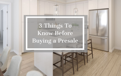 Buying a Pre-sale Property